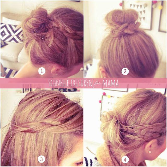 Schnelle Frisuren Für Mama Ein Pinterest Experiment Hairrr