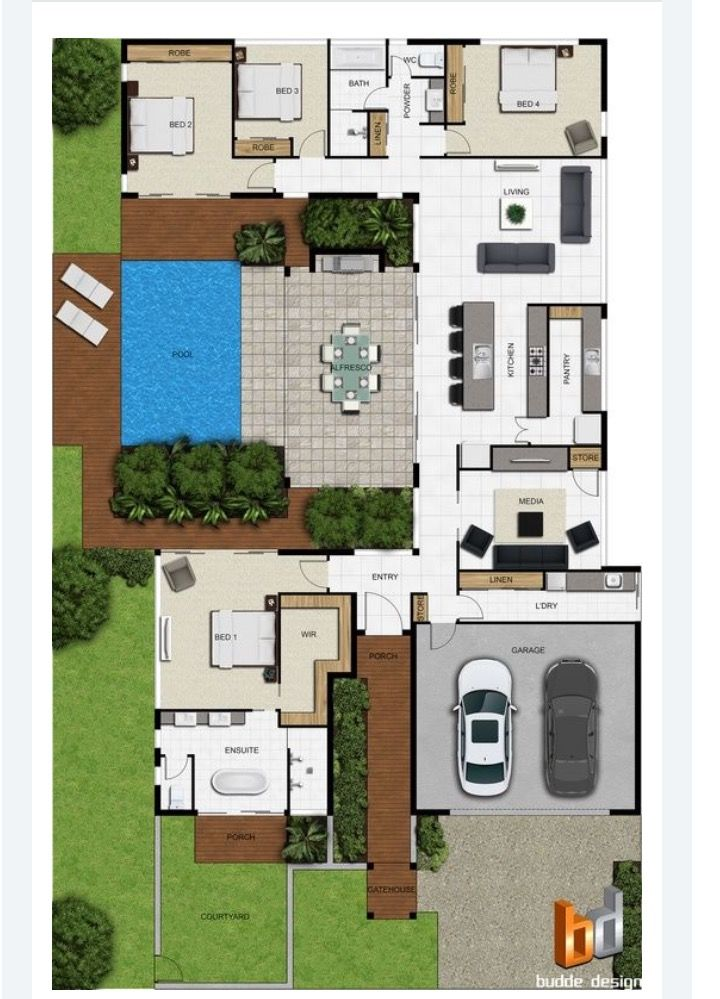 Pin by Marek Mark on home   Pinterest   House  Modern house plans     Our specifically produced range of Plan symbols and top view architectural  symbols are the best and highest quality colour floor plans symbols on the  mark