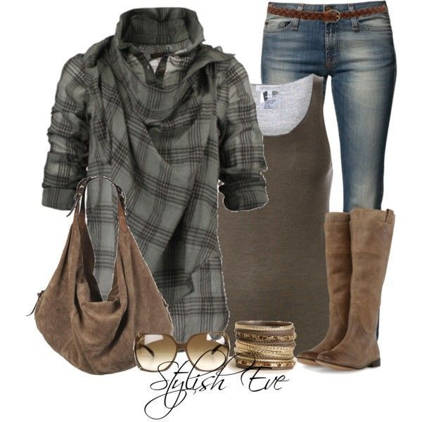 Stylish Eve Fall 2013 Outfits Fall for Plaid Source by familyfresh outfits fall