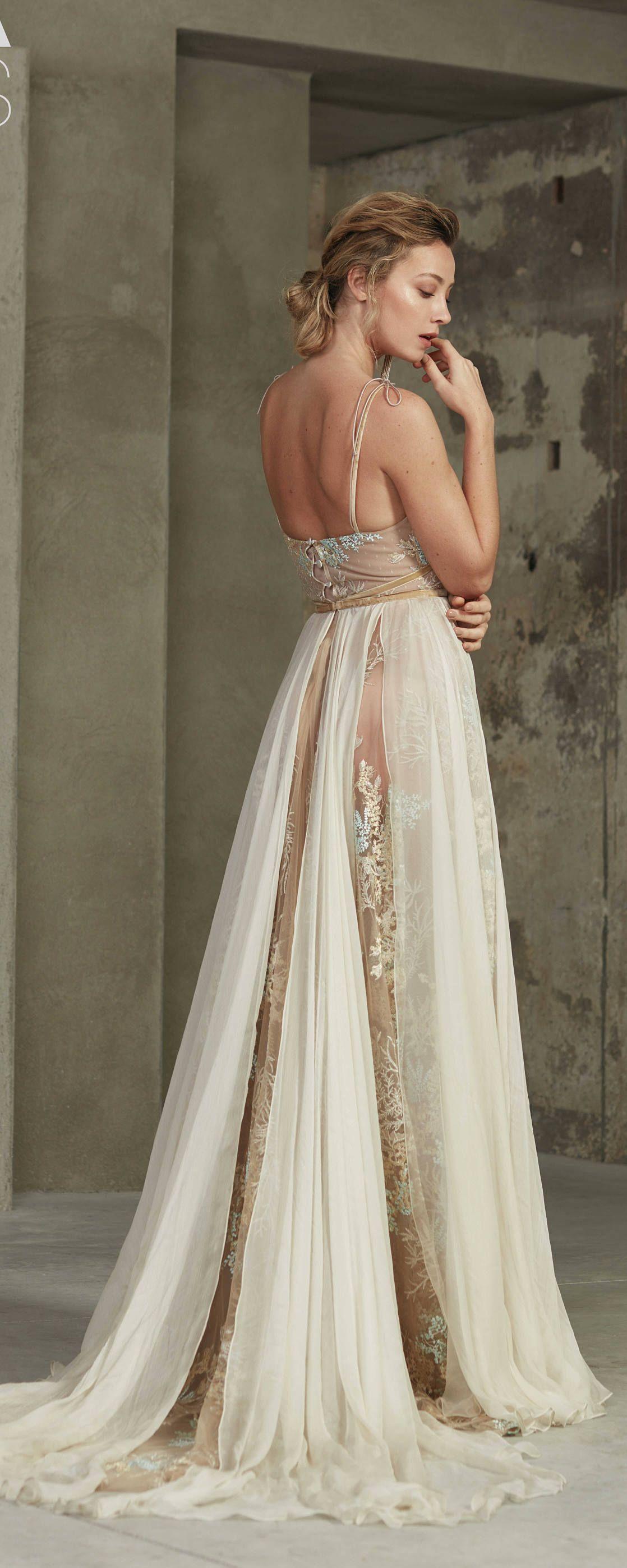 Wedding Dress Kalina Color Beige Bridal