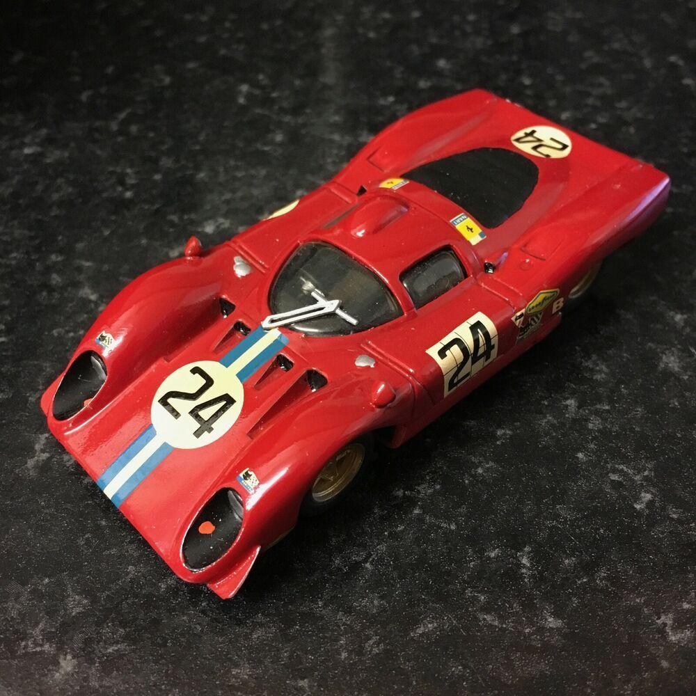 Dannini Modelli 1 43 Hand Built Nart Ferrari 312p Daytona 24 1970
