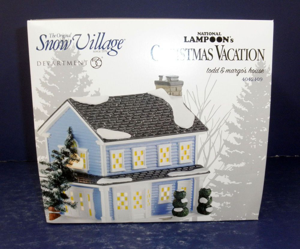 Details about Dept 56 Christmas Vacation Todd & Margo's
