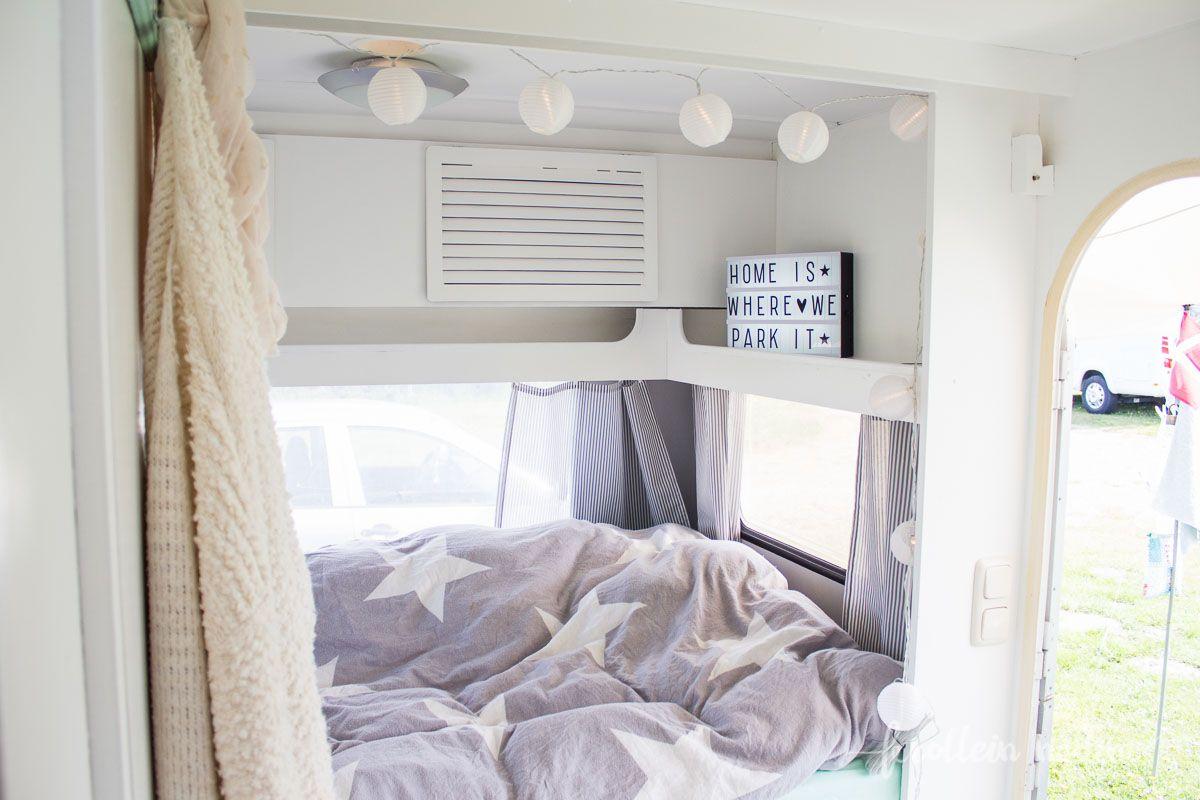 lichterkette glamping pinterest lichterkette wohnwagen und wohnmobil. Black Bedroom Furniture Sets. Home Design Ideas