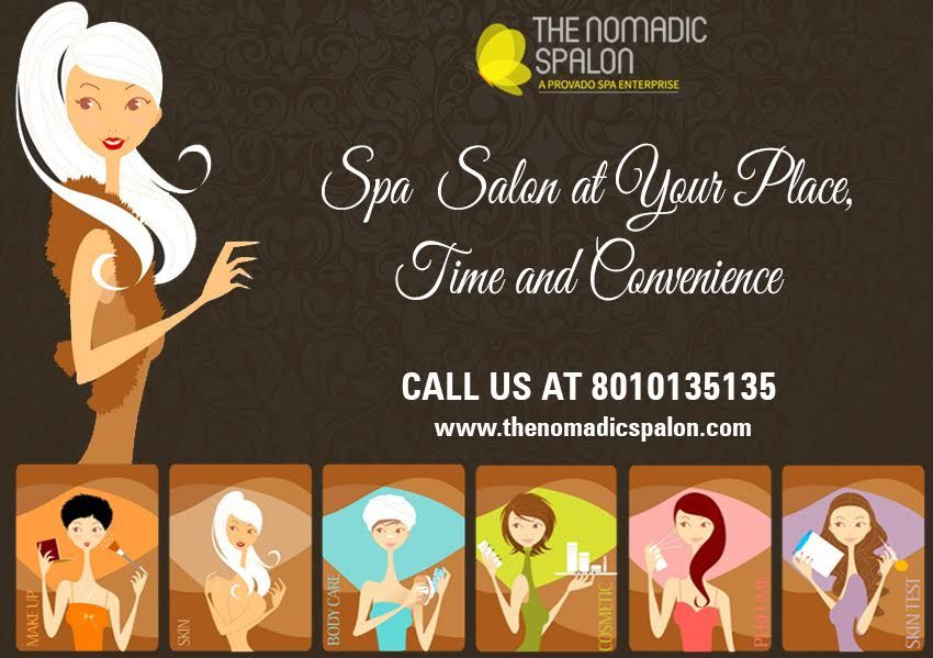 When you get the #spa and #Salon Service at your home with
