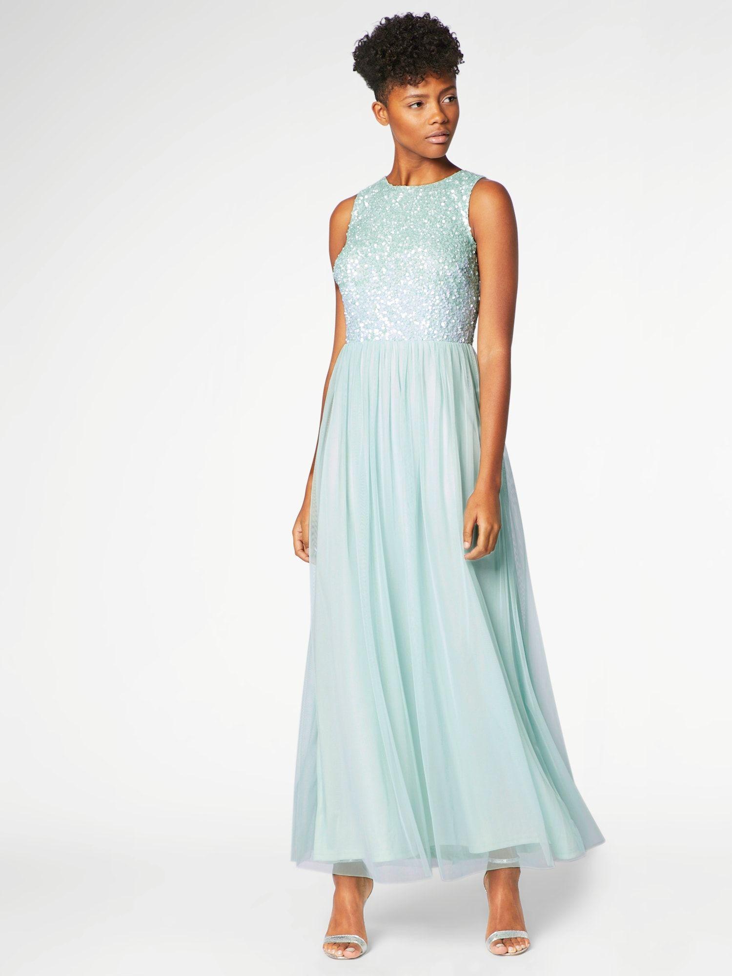Heine Abendkleid Damen, Mint, Größe 14  Abendkleid, Kleider und