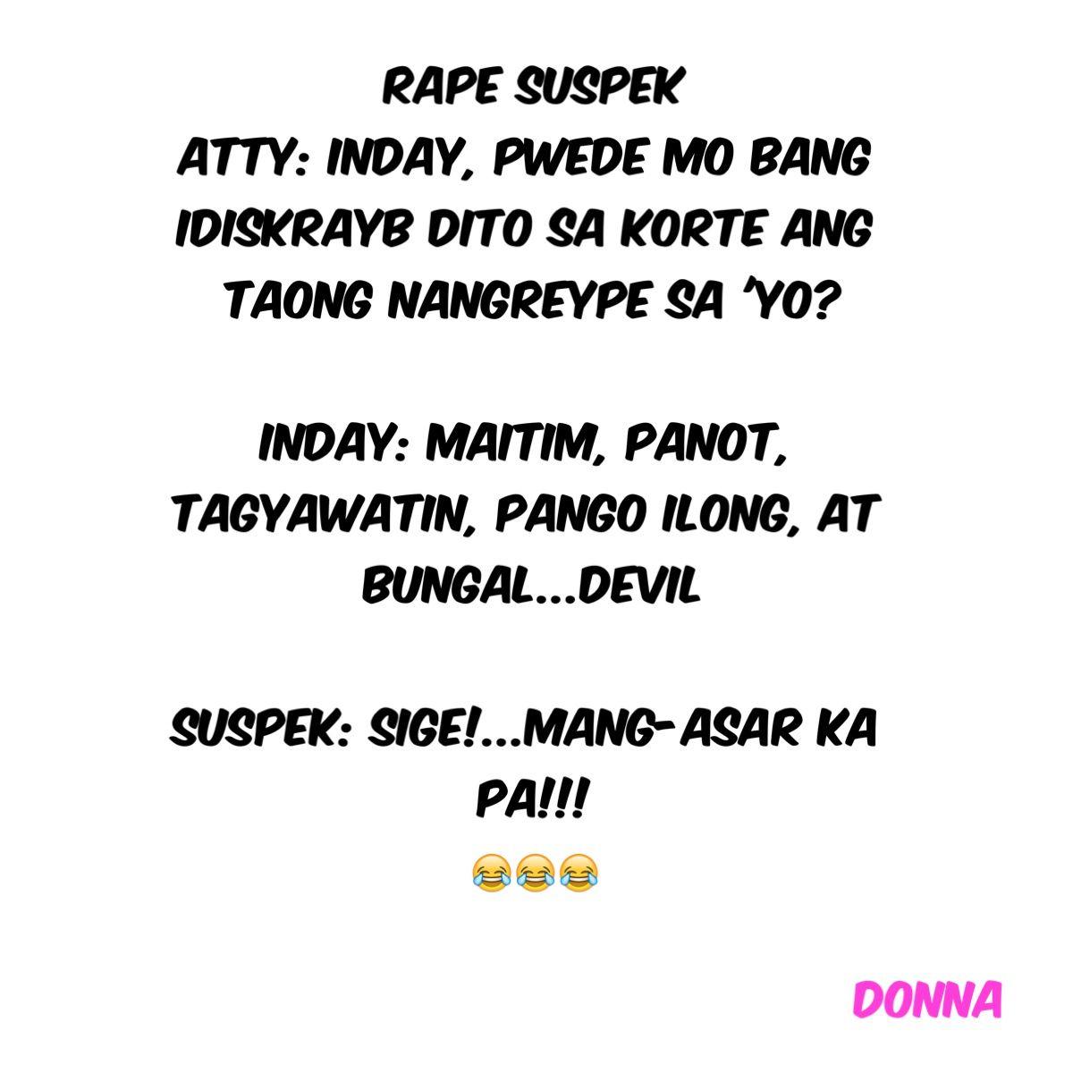 Tagalog Jokes About Food