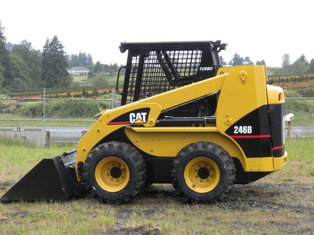 Caterpillar 236B, 246B, 252B, 262B SKID SREER LOADER Spare Parts Manual  Download