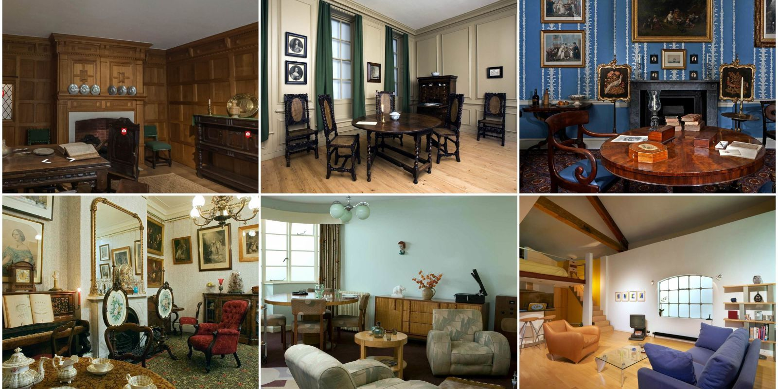 The history of interior design throughout London homes -http://www.housebeautiful.co.uk/decorate/looks/news/a1981/virtual-tour-london-interior-design-ages/  #interiors #homestyle #decor #design #interiordesign