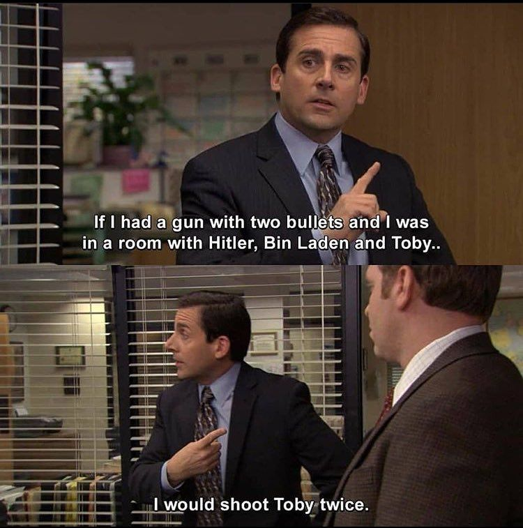 Pin By 𝐞𝐥𝐥𝐚 On The Office In 2020 Toby The Office The Office Show Office Jokes