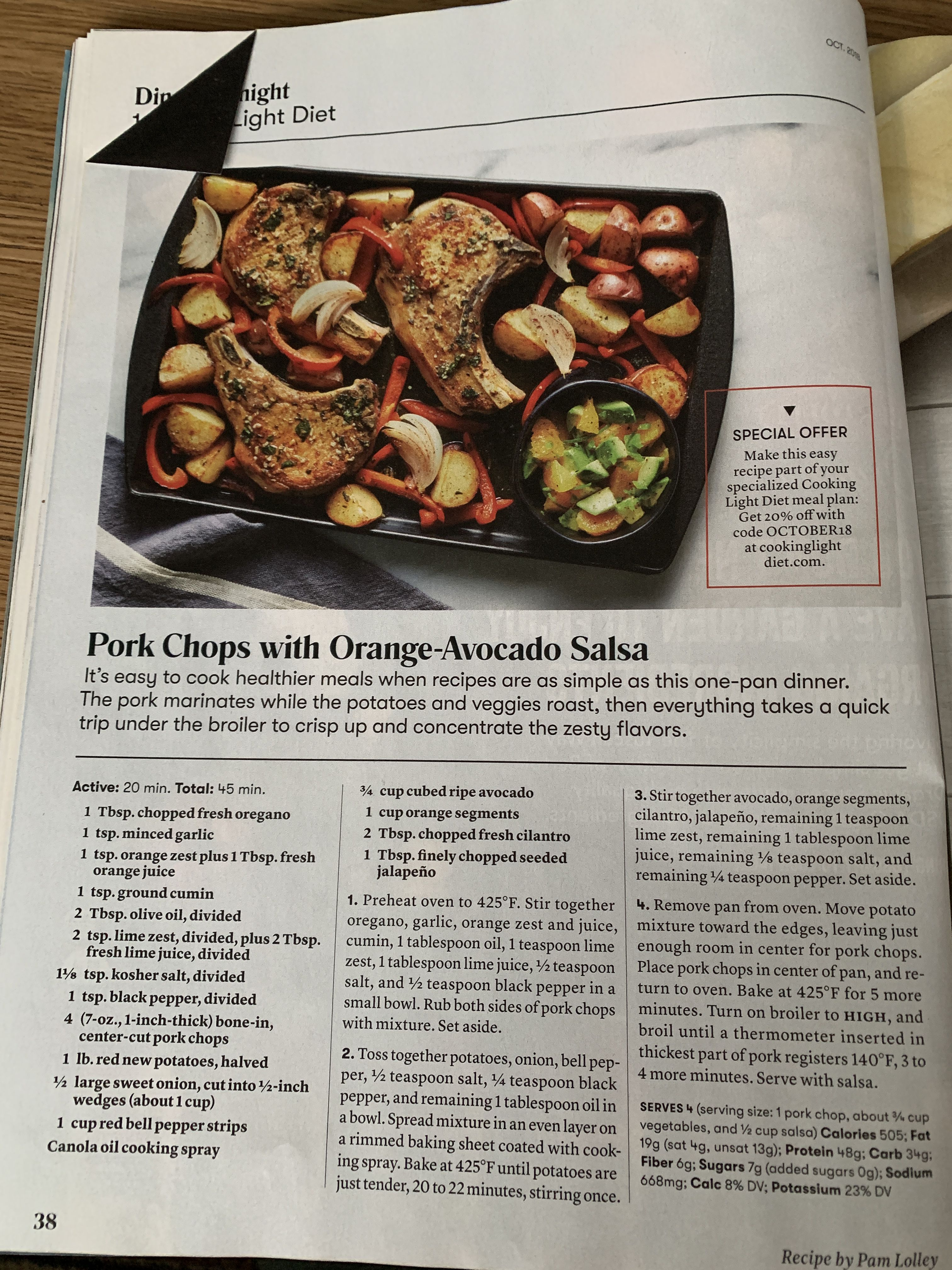 Pin By Camille Harding On Recipes Healthy Meals To Cook Cooking Light Diet Cooking Light