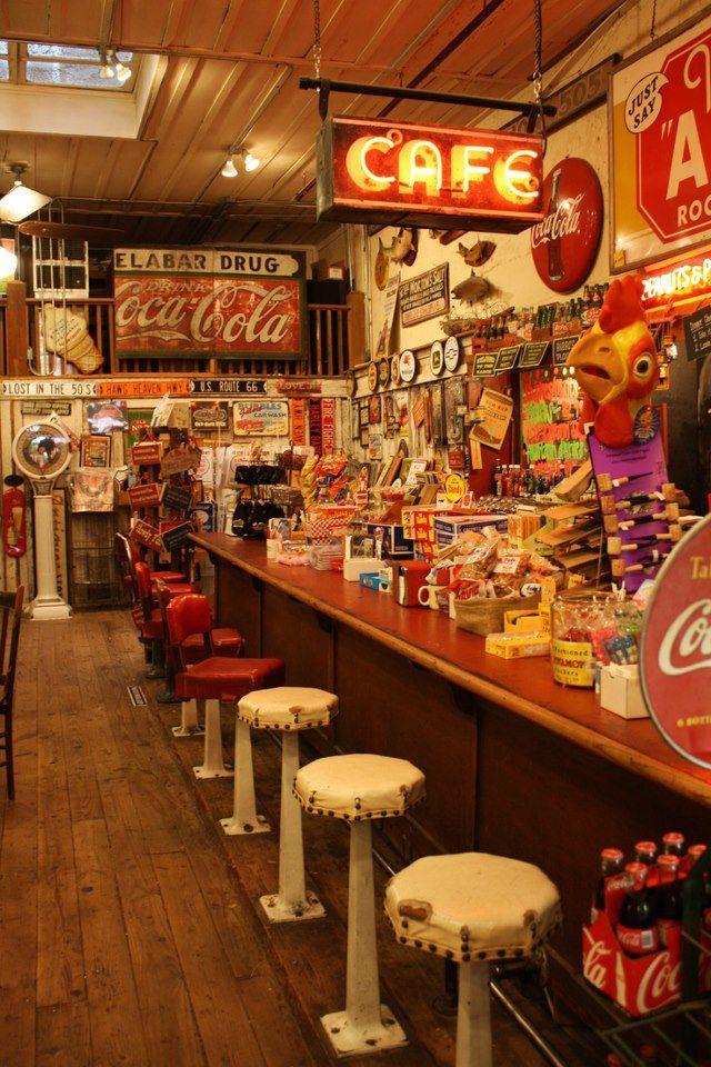 David S Stove Shop Cafe
