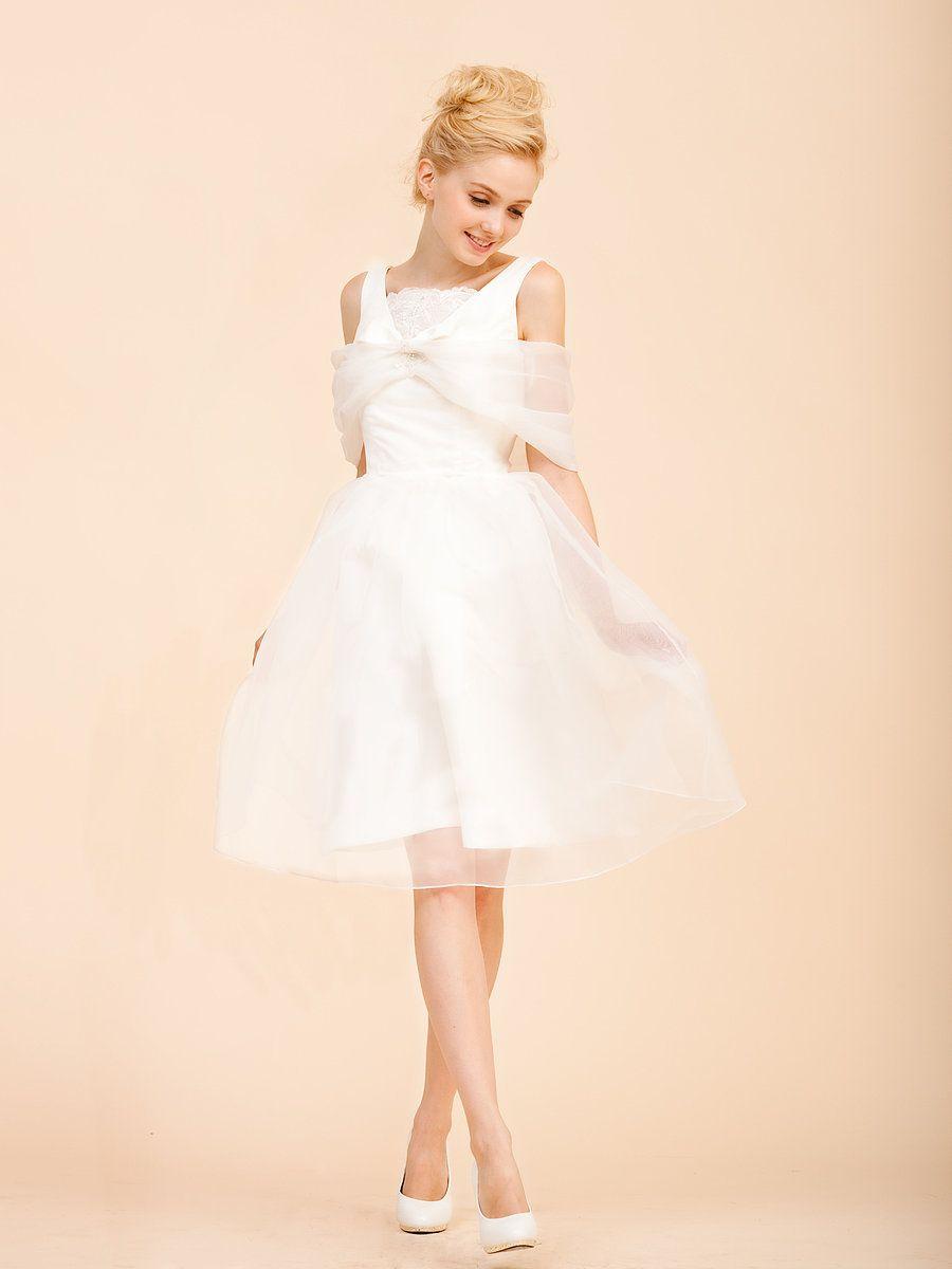 1000  images about tea-length   short wedding dress on Pinterest ...