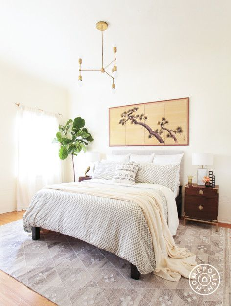 a look inside the first real simple home bedroom inspiration rh pinterest com