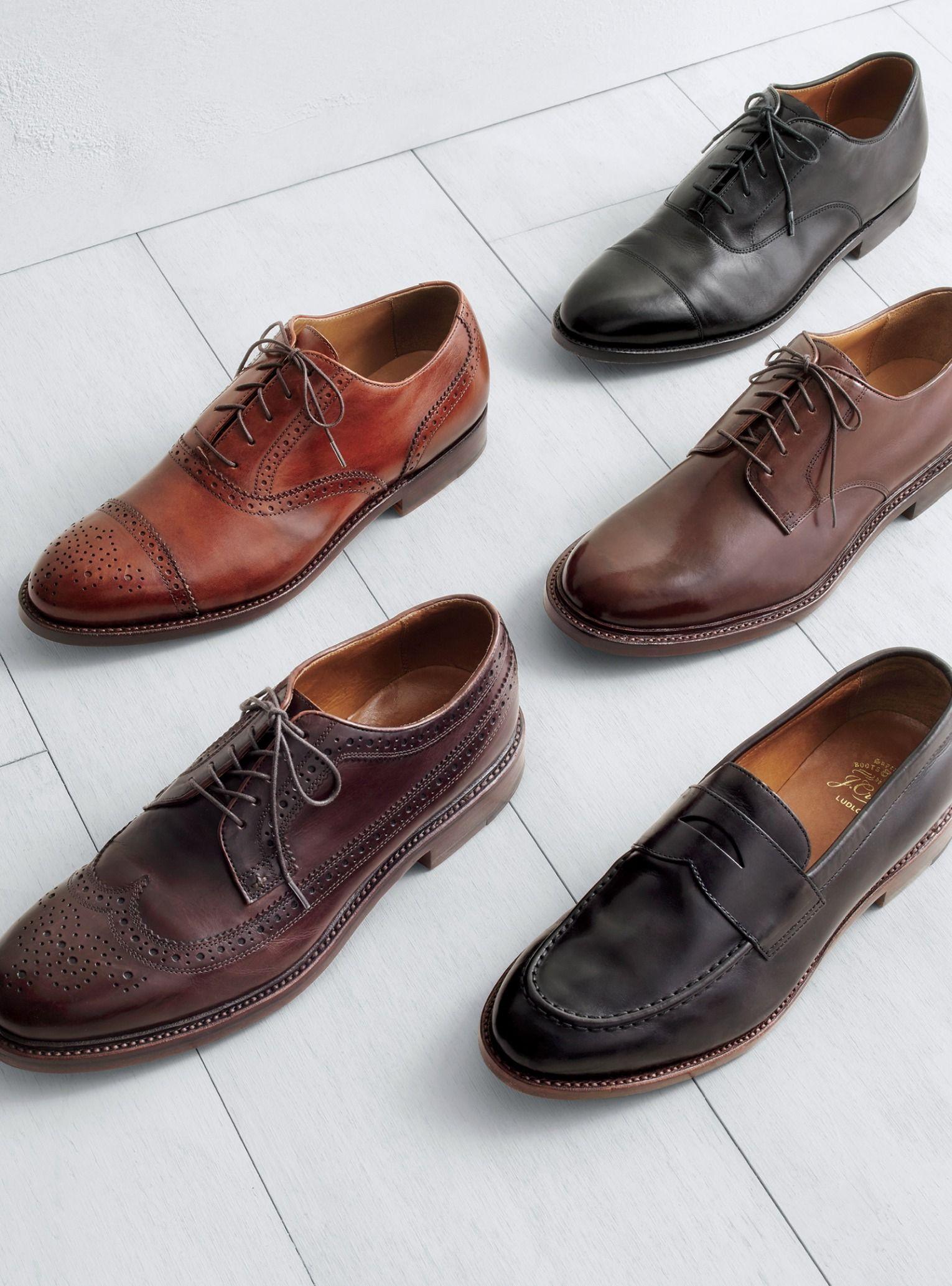 ba46a0aa50e J.Crew men s Ludlow shoes. To pre-order
