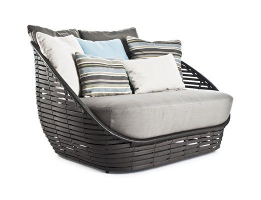 Kenneth Cobonpue  Collections  OASIS  Loveseat Furniture - balou rattan mobel kenneth cobonpue