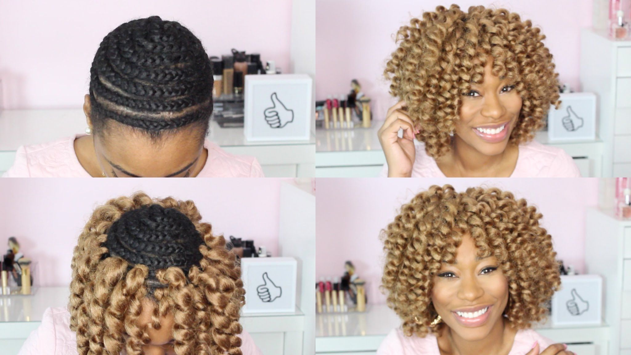 Watch Me Crochet Braid My Hair Chimerenicole Hair And Beauty
