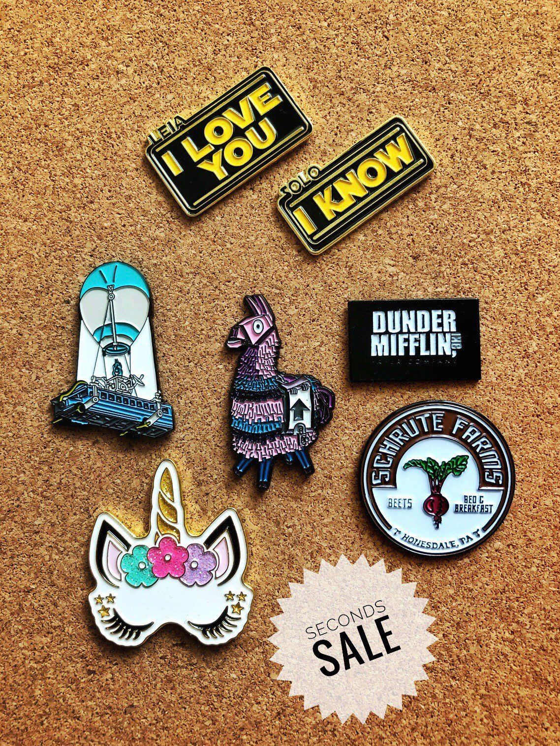 Excited To Share This Item From My Etsy Shop Seconds Sale Enamel Pins Lapel Pins Discounted Pins Enamel Pins Lapel Pins Lapel