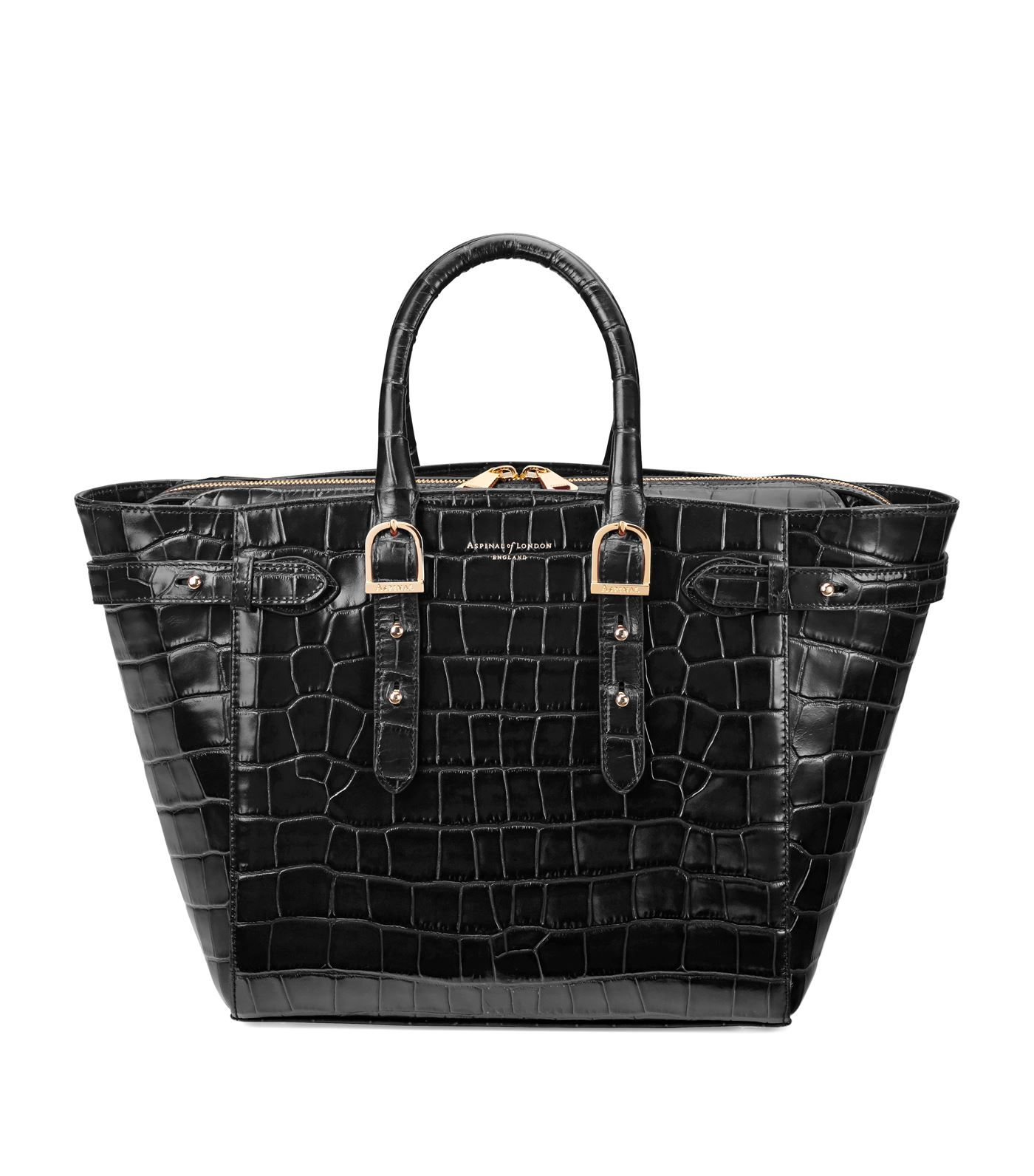 bb86e38f0231bb Aspinal of London Medium Croc-Embossed Marylebone Tote #AD , #sponsored, # Medium, #London, #Aspinal, #Croc, #Tote
