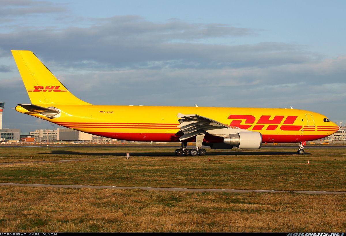Dhl A300 Freighter Cargo Aircraft Commercial Aircraft Air Cargo