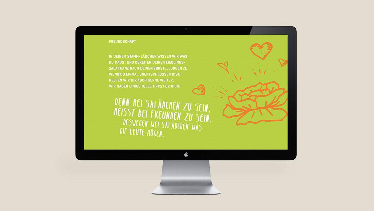 Salädchen: Web design