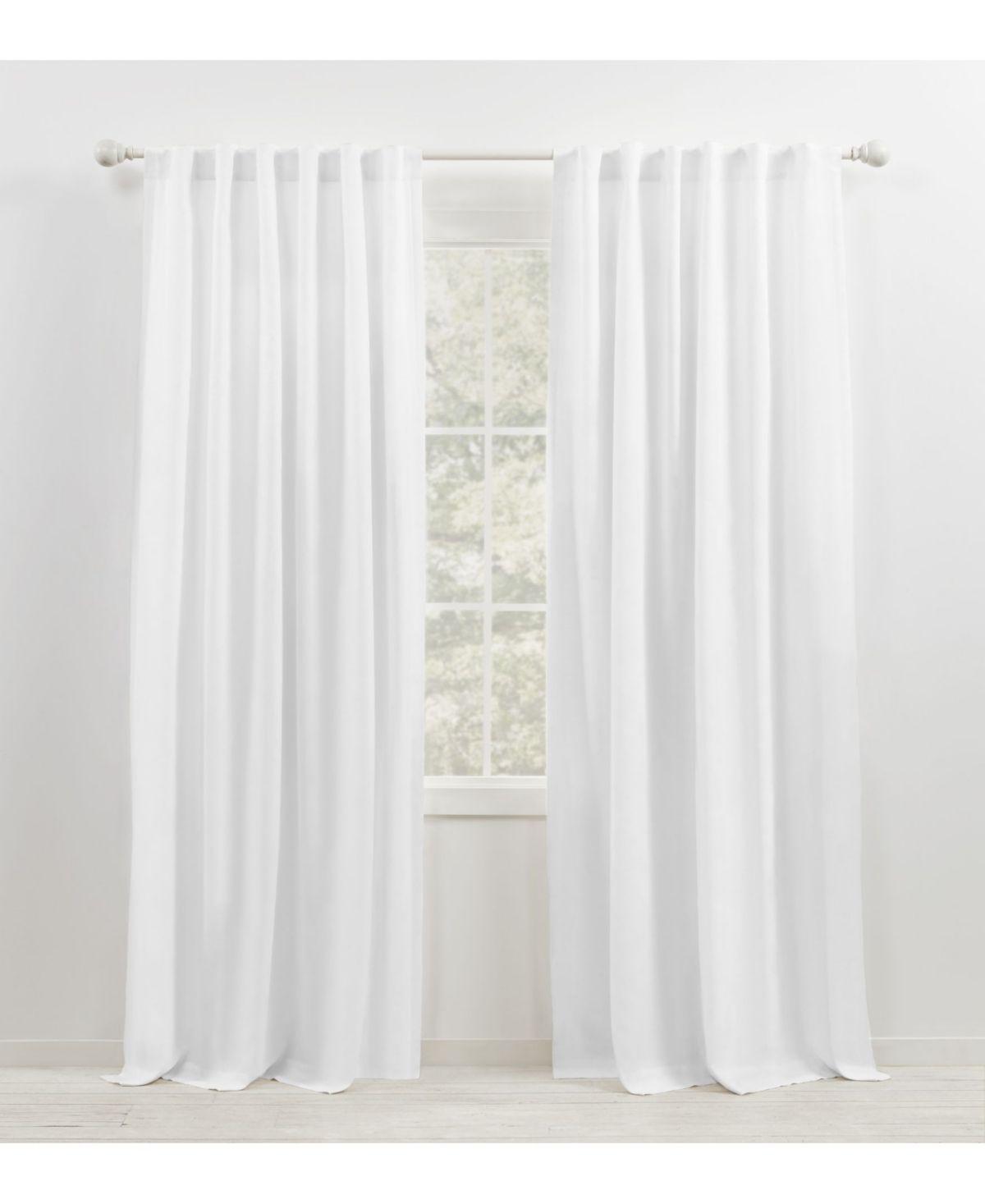 Lauren Ralph Lauren Leanne Back Tab Rod Pocket Curtain Panel 50