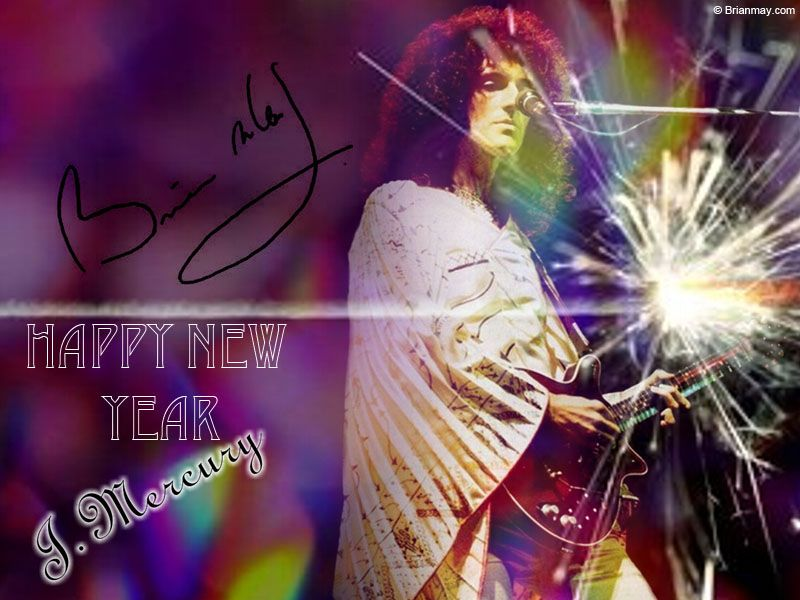 Brian May - Happy New Year