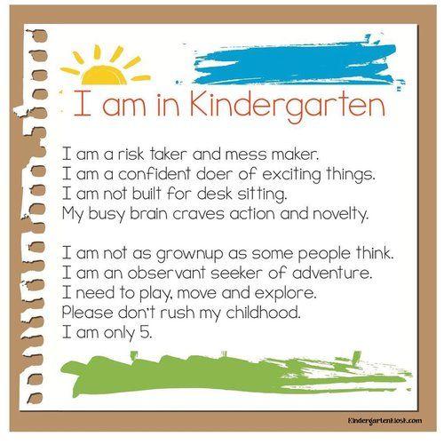 Developmentally Appropriate Teaching: Why Does it Matter? — Kindergarten Kiosk