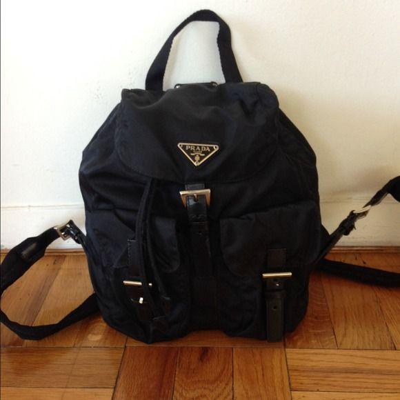 Prada Backpack Ladies