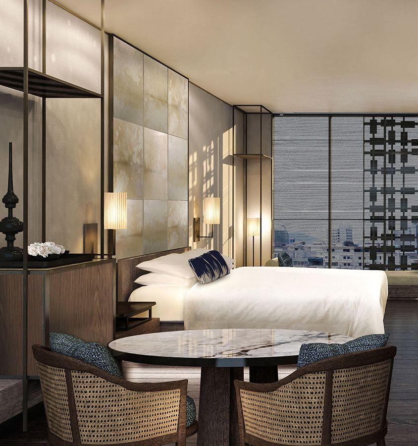 Regent jakarta blink design group bedroom in 2019 for Design hotel jakarta
