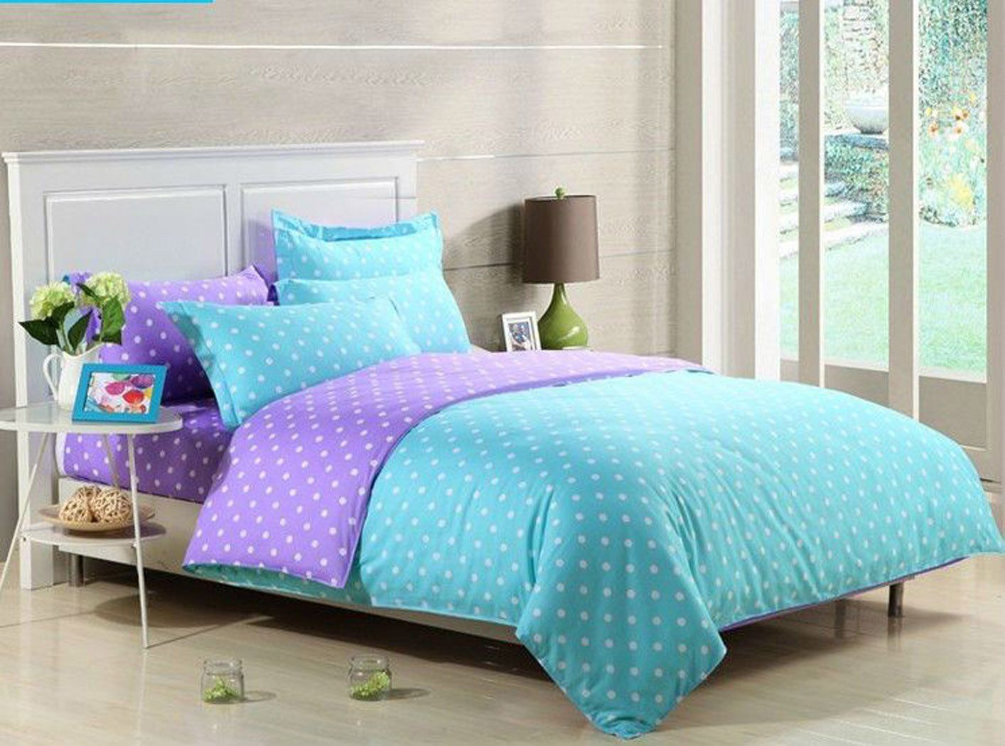 Purple bedding for teenage girls - Bedroom Sets For Teenage Girls Blue Inspiration 54729 Ideas Polka Dot Beddingpurple