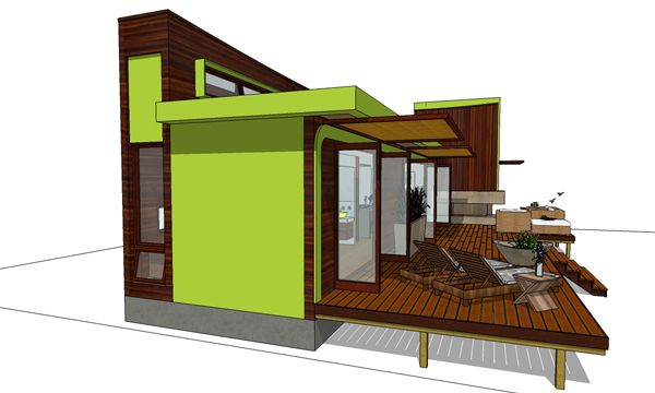Hummingbird-H2 House Plan 3973 - 2 Bedrooms and 2 Baths | The House ...