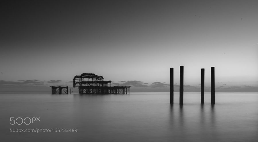 West Pier by sandtasticdays. @go4fotos