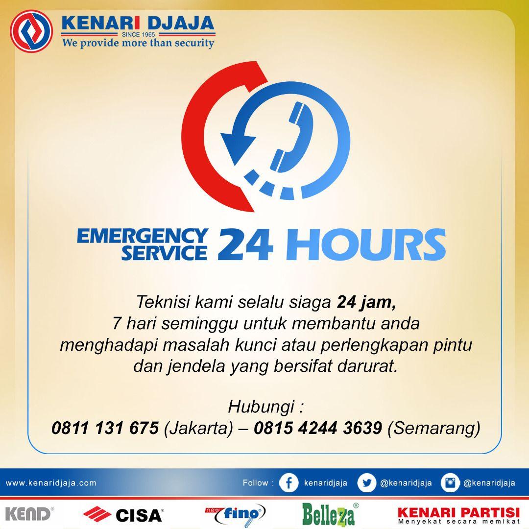 Pelayanan terbaik kami adalah pelayanan service 24 jam non