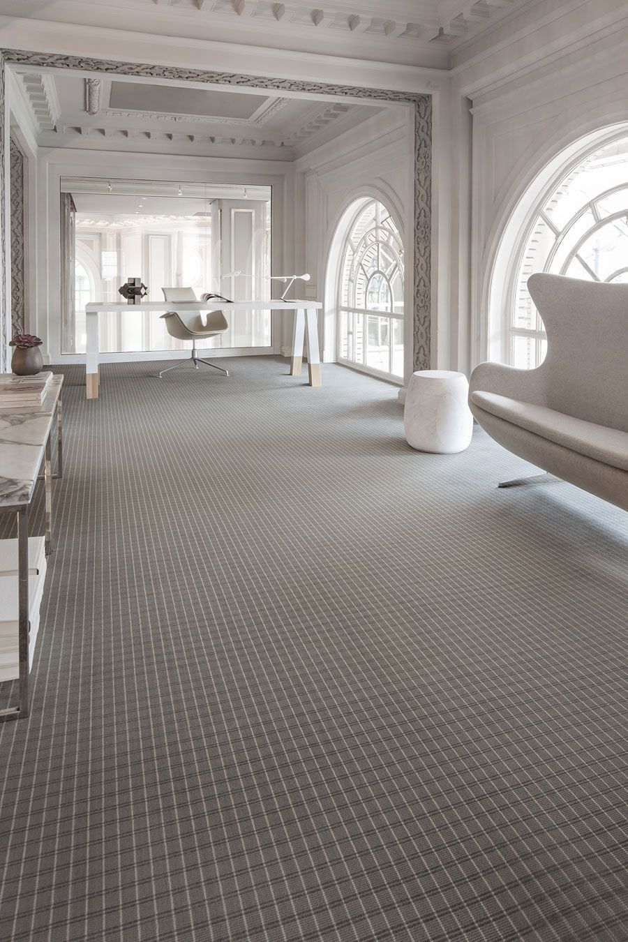 Clearly Classic Karastan Commercial Woven Carpet Mohawk