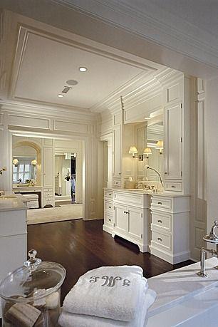 Great Traditional Master Bathroom Bathrooms Pinterest Baños - baos lujosos