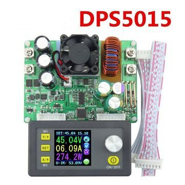 RD® DP50V15A DPS5015 Programmable Supply Power Module With Integrated Voltmeter Ammeter Color Display