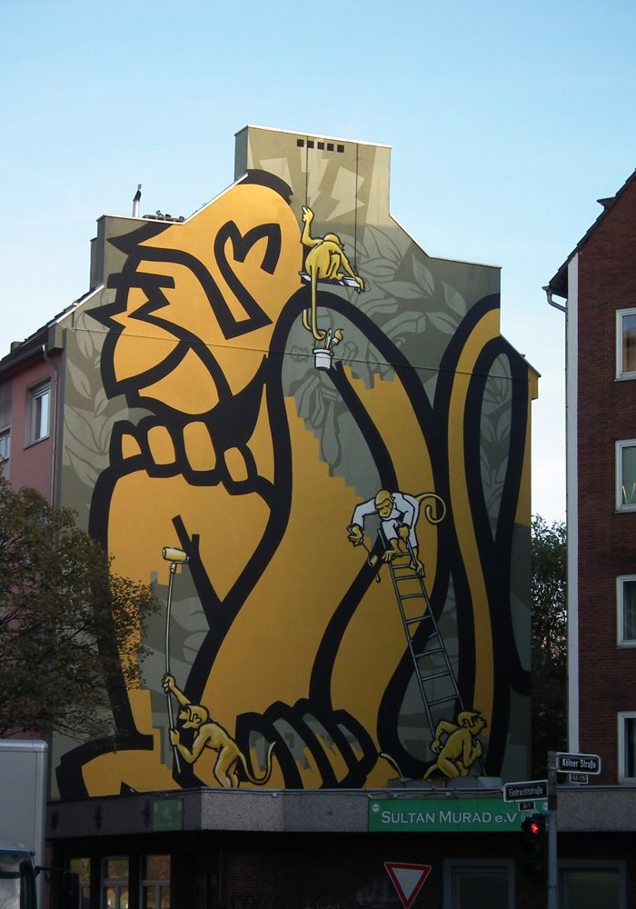 Graffiti Düsseldorf majo brothers dusseldorf graffiti
