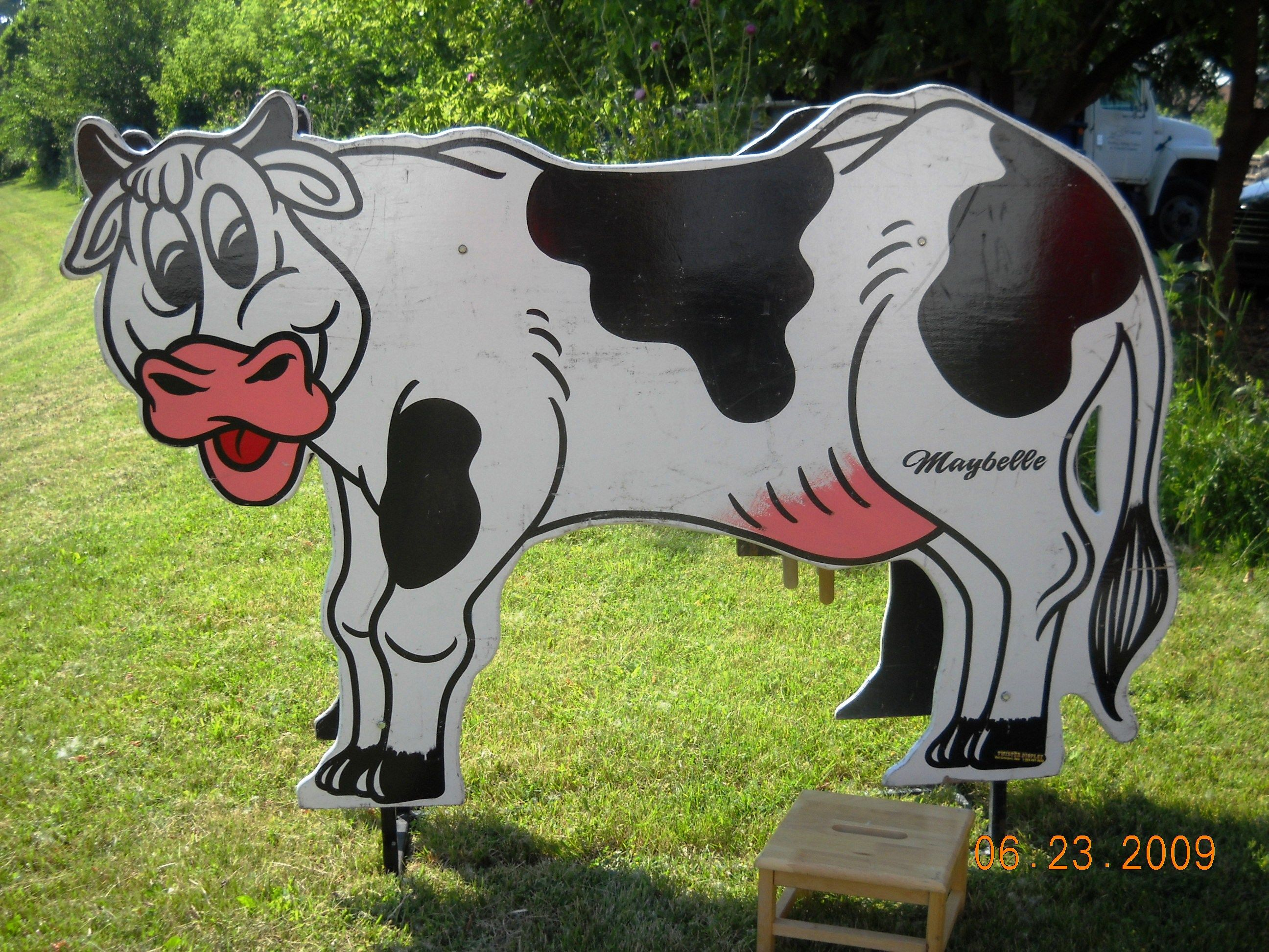 Cow milking contest chicago party rentals carnival games