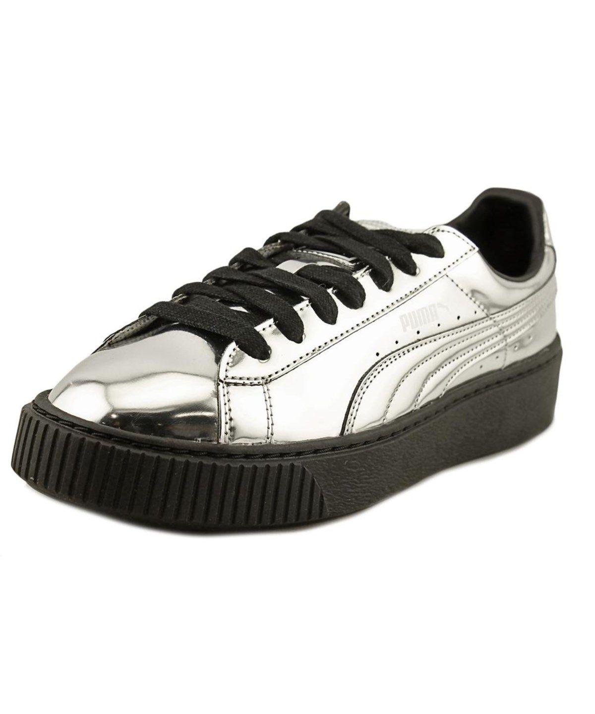 size 40 0dabf 1ae89 PUMA Puma Basket Platform Women Synthetic Silver Fashion Sneakers .  puma   shoes  sneakers