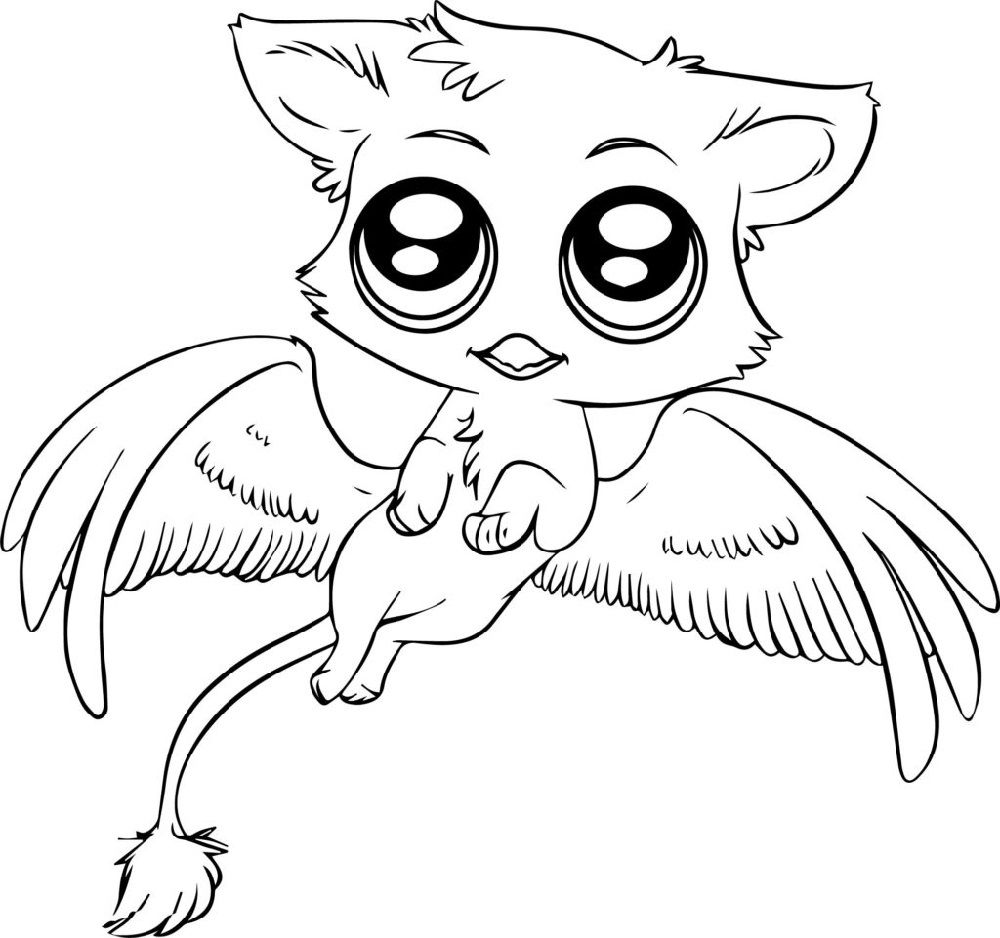 Adorable Baby Animal Coloring Pages For Kids Animal Coloring Pages Puppy Coloring Pages Cartoon Coloring Pages