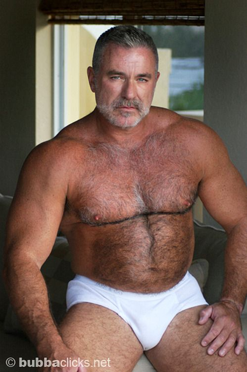 Hairy mature guys