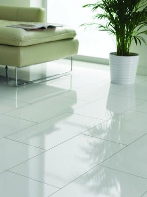 Wickes High Gloss White Laminate Flooring Floors Pinterest