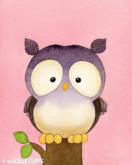'Owl' by Tracy Lizotte, awe he looks to sad and sweet at the same time. Just wanna squeeze you widdle hootie.