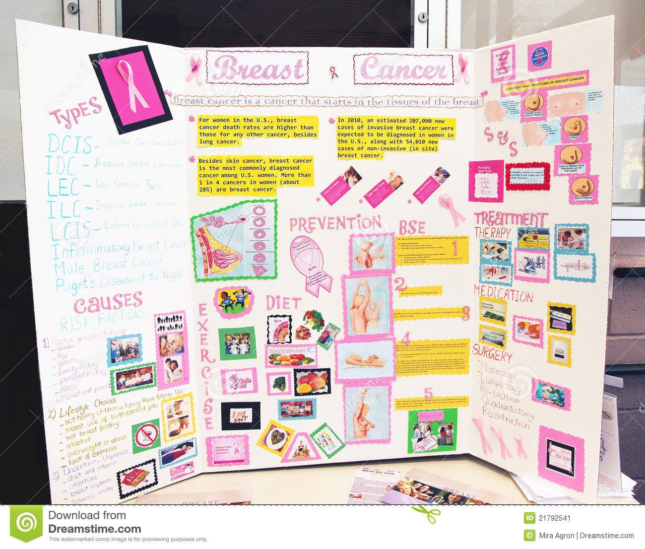 A board poster design - Poster Boards Designs Cancer Breast Cancer Poster Is On Display During October Which Is The