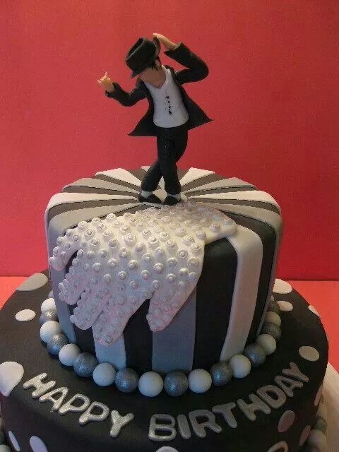 Michael Jackson Cake With Images Michael Jackson Cake