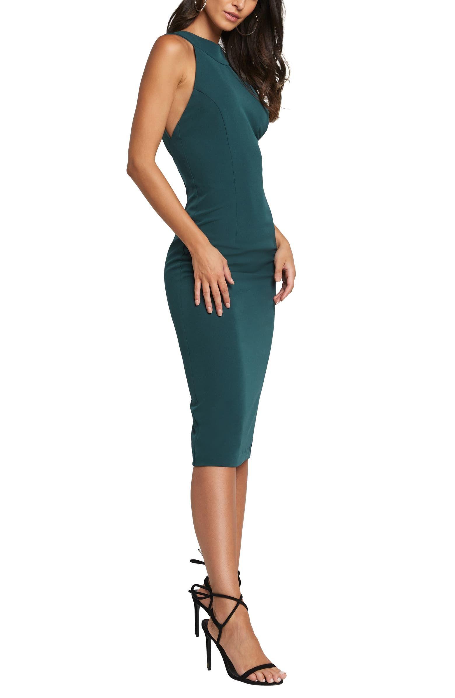 Bardot Elsy Backless Cocktail Dress | Nordstrom #backlesscocktaildress
