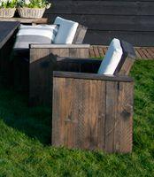 Diy Steigerhout Stoel Bouwtekening Praxis Tuin Garden