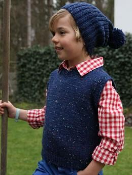 Child S Vest And Hat S8934 Free Pattern A Design Combination For