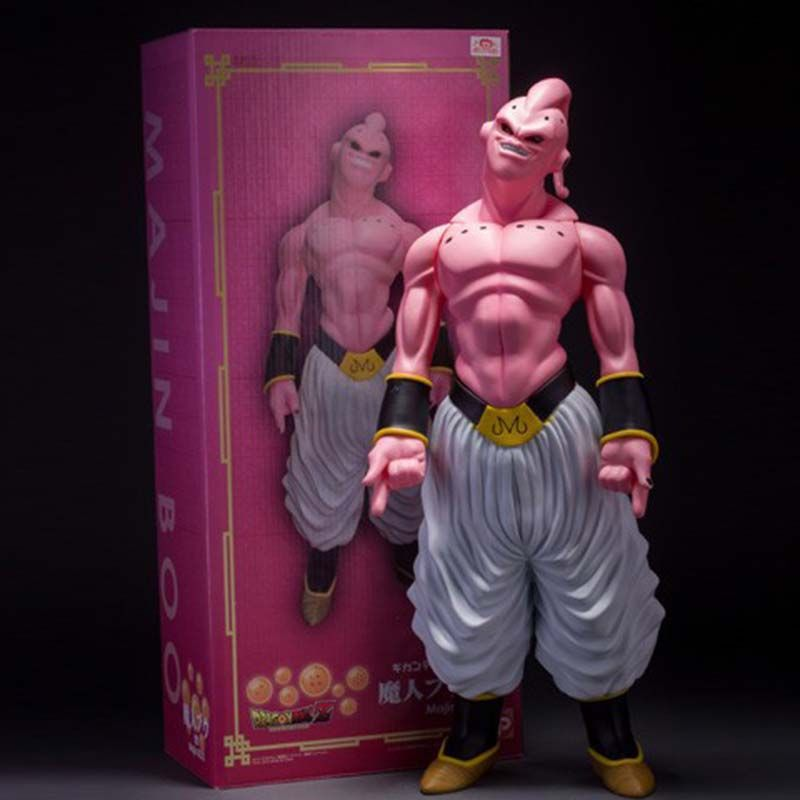 1pcs 48cm Dragon Ball Z Super Big Majin Buu Pvc Action Figure Collectible Model Toy Boxed Great Gift Free Shippin Dragon Ball Action Figures Toys Dragon Ball Z