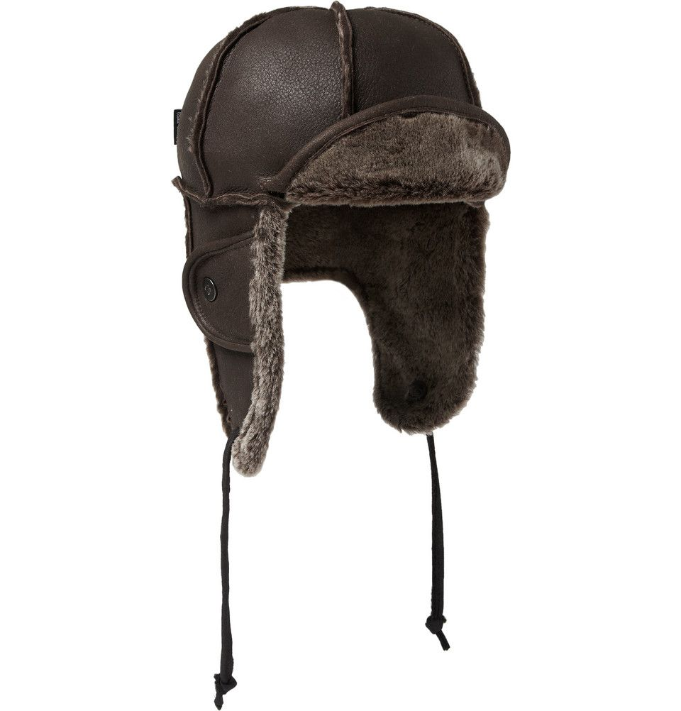 2196476d068f9d Paul Smith Shoes & Accessories Shearling Trapper Hat | MR PORTER ...